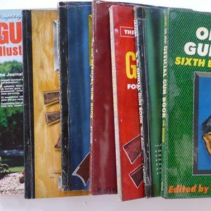 7 Official Gun Book 1950 - 56 firearms hunting